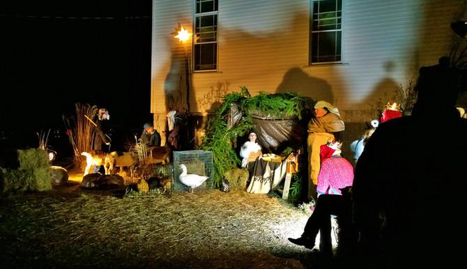 Live Nativity Display