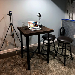 Typical Webinar/Livestream Setup