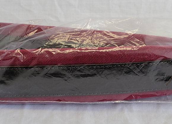 """(SOLD OUT!) - Shoulder Straps - approx. 3"""" wide (red velvet/chocolate)"""