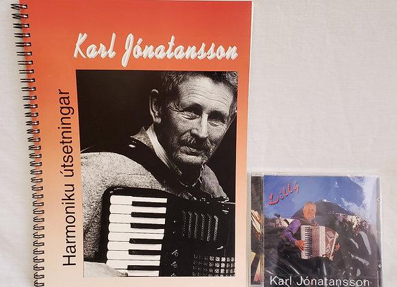 Karl Jonatansson - Icelandic Accordion Great (music book & CD)