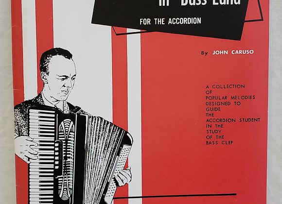 Melodic Adventures in Bass-Land (Accordion Book)