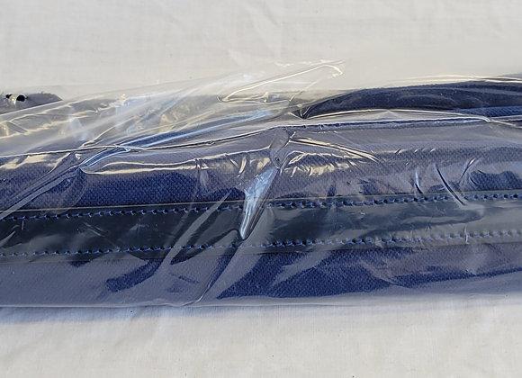 """Shoulder Straps - approx. 2.5"""" wide (blue velvet)"""