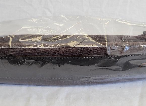 "Shoulder Straps - approx. 3"" wide (chocolate velvet)"