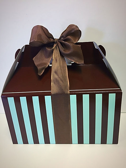 Brown and Blue Box