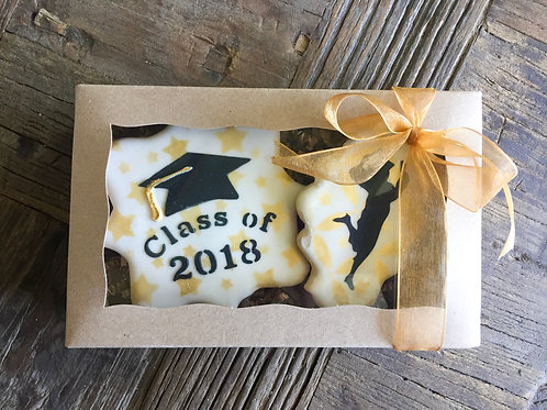 Two Cookie Graduation Cookie Package (Female)