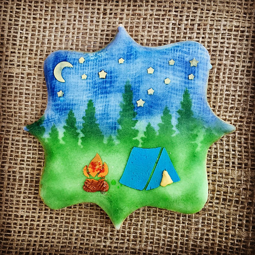 Starry Night Cookie