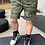 Thumbnail: Men's shield patch fleece shorts