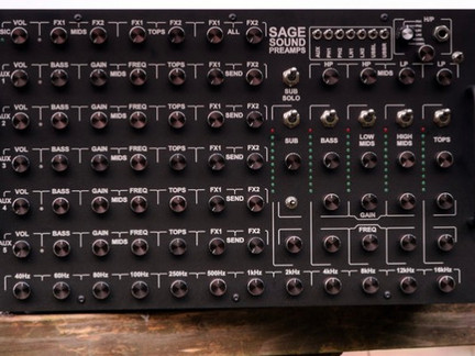Sage Sound is no longer making Preamps