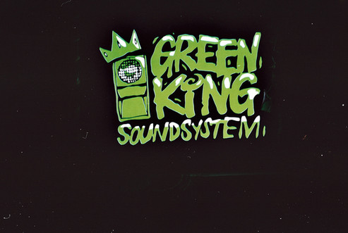 Green King Sound System lightbox