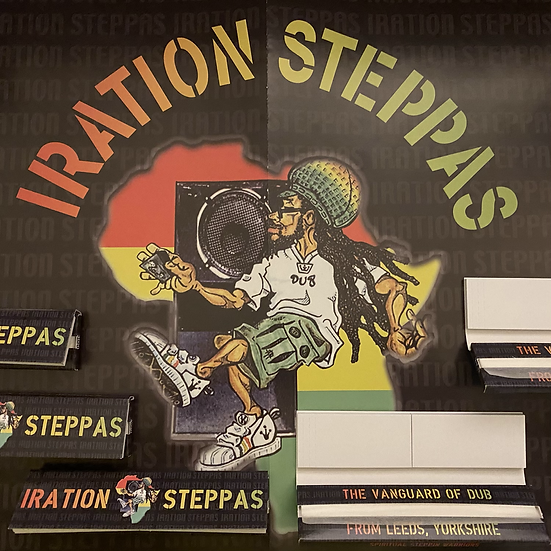 Iration Steppas Rolling Papers (3 Pack)