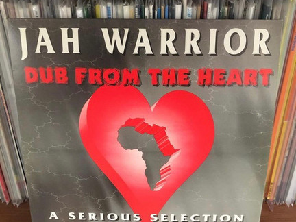 DUBWISE VINYL: Jah Warrior Dub From The Heart LP