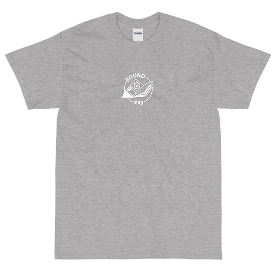 Sound Mag Logo Two Print - Sport Grey