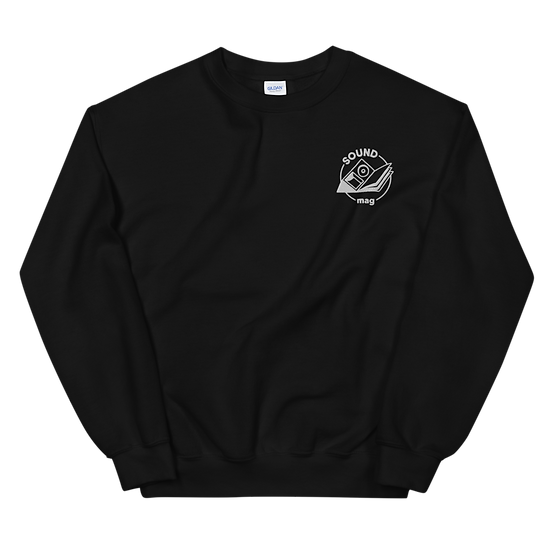 Sound Mag Sweatshirt - Black