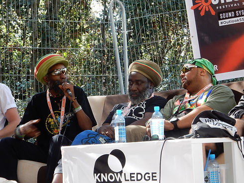 Conference with Danman, Mikey Dread and