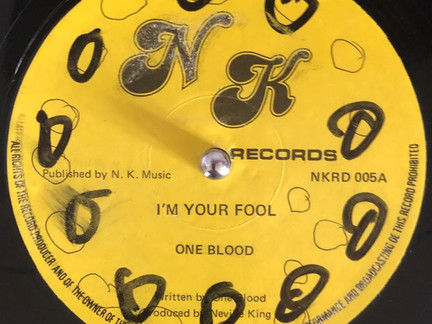 DUBWISE VINYL: One Blood - I'm Your Fool