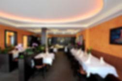 Ein warmes Ambiente begleitet den Aufenhalt bei dem in Kroftdorf liegenden Restaurant Lava.