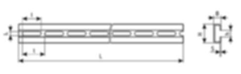 чертеж профиль C-образный, профиль К108, К110, К108, К108/1, К108/2, К101