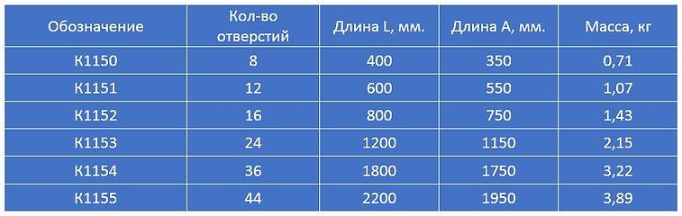 стойки кабельные К1150, К1151, К1152, К1153, К1154, К1155