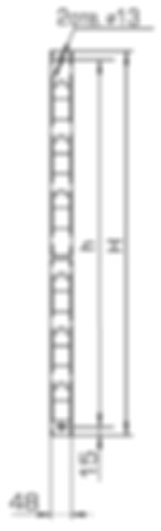 кронштейн прямолинейный Р2В криволинейный Р2К