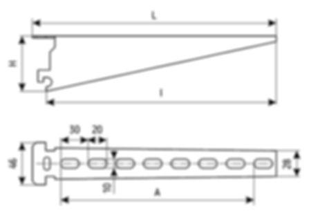 полка кабельная К1160, К1161, К1162, К1163