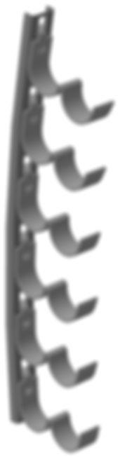 кронштейн криволинейный Р2В