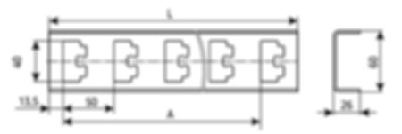 стойка кабельная К1150, К1151, К1152, К1153, К1154, К1155