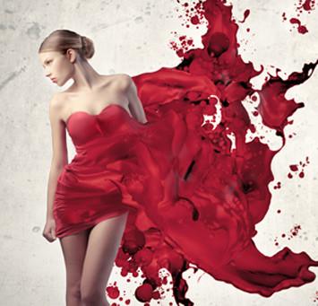Allt män kan göra kan vi kvinnor göra blödande