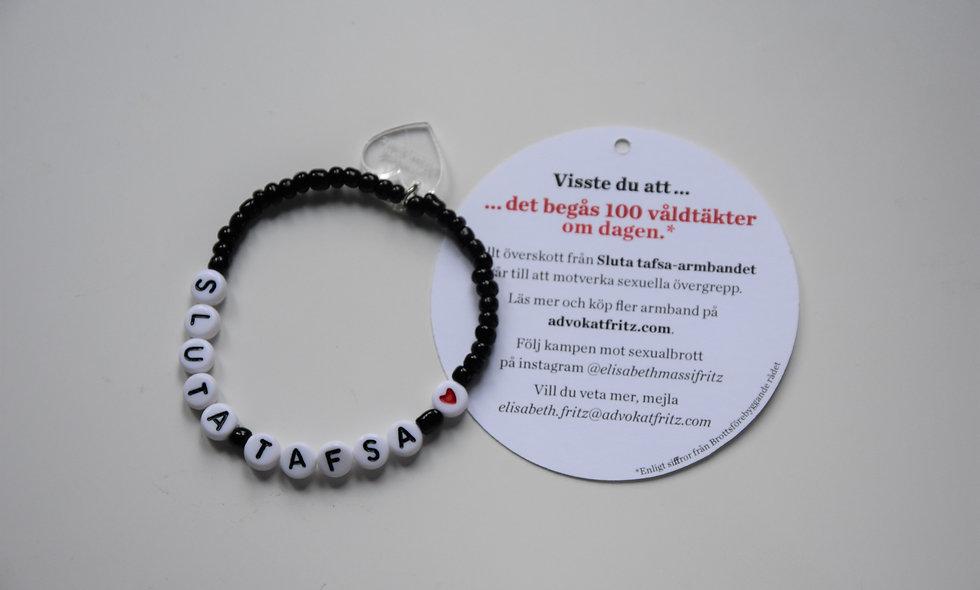 Sluta tafsa-armbandet