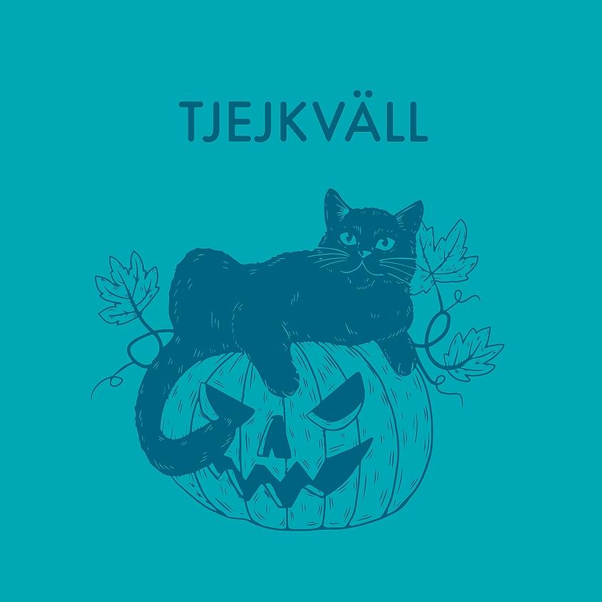 Tjejkväll med Halloween-tema