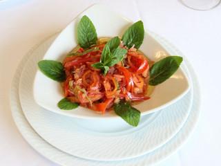 Domates Salatası