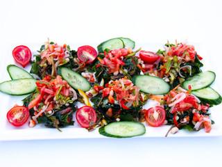Ege Otları Salatası