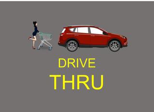 Drive-trhu: sistema que faz falta nos supermercados nos dias de hoje.