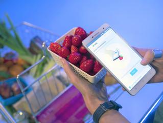 Smartfone fiscal de alimentos