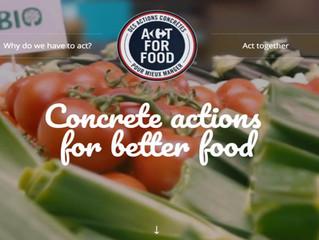 Carrefour lança programa (mundial?) para comer melhor.