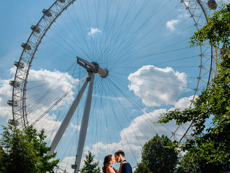 Summer engagement shoot at most iconic locations in Central London.