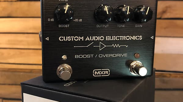 MXR Custom Audio Electronics Boost/Overdrive MC402 2010's