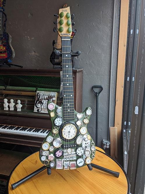 Decorative Clock Guitar