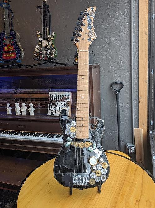 Decorative Black Guitar