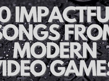 Ryan's 10 Impactful Songs from Modern Video Games