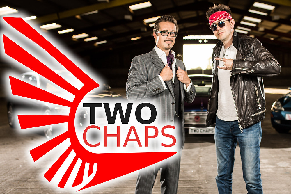 Two chaps car reviewers - YouTube brand photography by Havelock