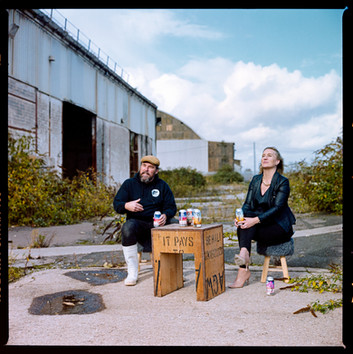 New Bristol Brewery - Havelock Classic - analogue photography for marketing
