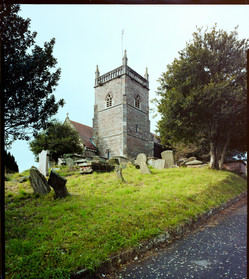 St Arilda's Church - Havelock Classic - analogue photography for marketing