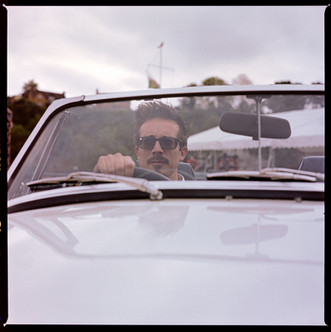 Classic Car photography - for Havelock Classic, analogue photography for marketing and advertising