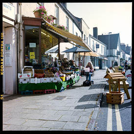 Town centre shop - Havelock Classic - analogue photography for marketing