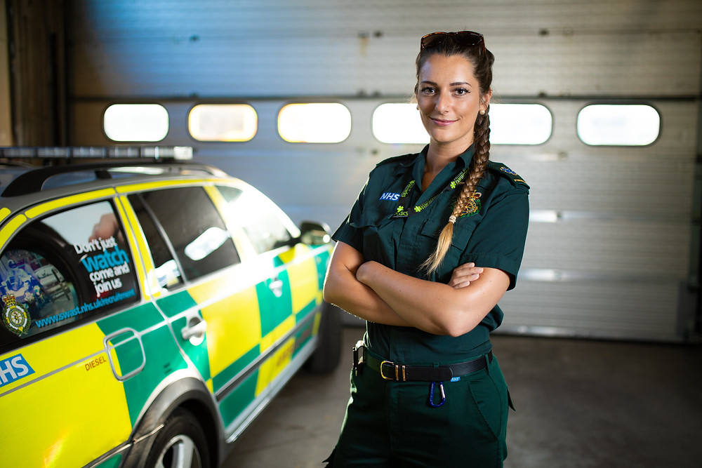 Photo of paramedic in Bristol, by Havelock - Bristol commercial photography