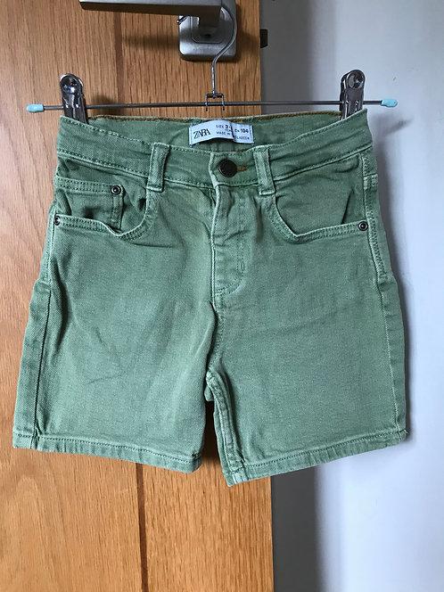 Zara Denim Shorts 3-4y