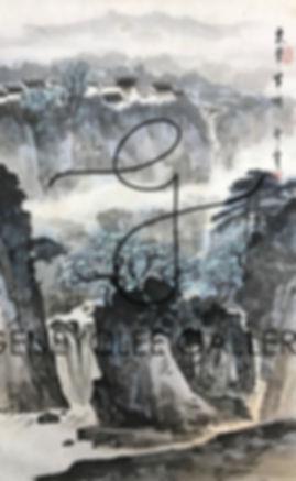 郑震 Zheng Zhen, 83cm x 50cm