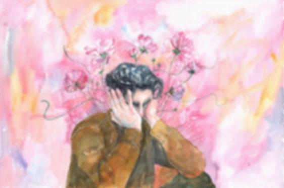 """上癮的甜毒, 2017, Watercolour, 15"""" x 22"""""""