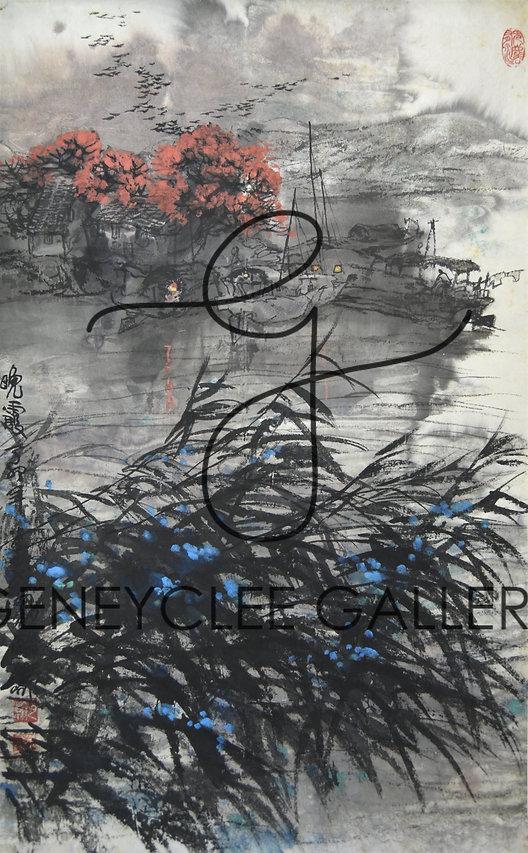 肖瀚 Xiao Han, 40cm x 64.5cm