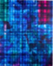Liminal Space #1, 2015. Acrylic paint on canvas. 150cm x 120cm.